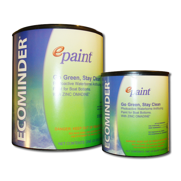 Antifouling boat paint copper free